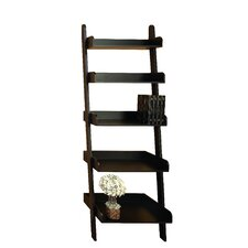 """76"""" Leaning Bookcase"""