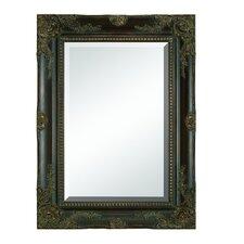 Wooden Beveled Mirror
