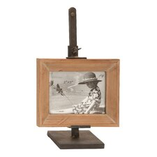 Metal Wood Picture Frame