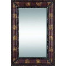 Rectangular Leather Mirror