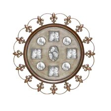 Metal Picture Frame Wall Decor