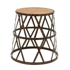 Vintage Inspired Accent Stool I