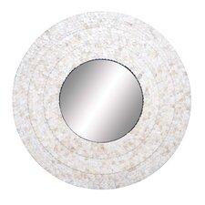 Inlay Circular Wall Mirror