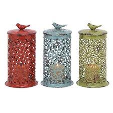 Metal Lanterns (Set of 3)