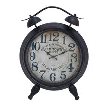 Arabic Numbers and Alarm System Table Clock