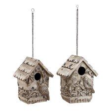 Polystone Hanging Birdhouse (Set of 3)