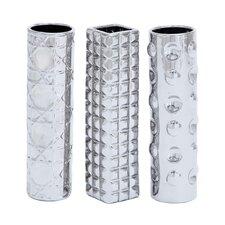 Ceramic 3 Piece Vase Set