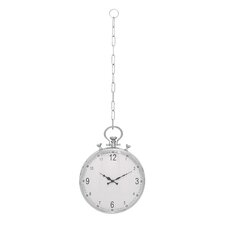 "Classic 15"" Pocket Watch Hanging Wall Clock"