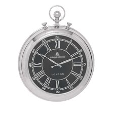 """Vintage Oversized 24"""" Traditional Pocket Watch Designed Wall Clock"""