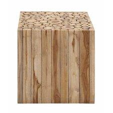Square Shaped Wooden Klaten Stool