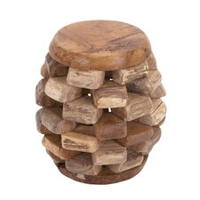 Solid Wooden Teak Material Stool
