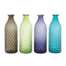 4 Piece Bubble Surface Vase
