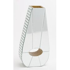Irish Wooden Mirrored Vase