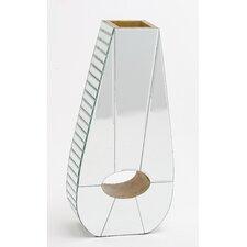 Irish Wooden Mirrored Vase