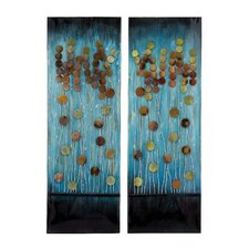 2 Piece Handcrafted Plaque Wall Décor Set