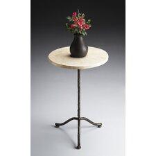 Metalworks Pedestal End Table
