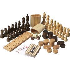Masterpiece Anatoly Wood Multi Game Table