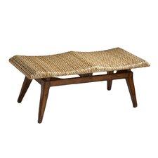 Designer's Edge Woven Seagrass Bench