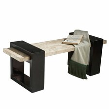 Designer's Edge Fossil Stone Veneer Bench