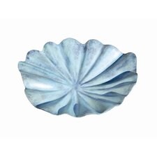 Large Lily Leaf Bird Bath
