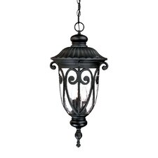 Naples 3 Light Outdoor Hanging Lantern