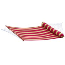 Deco Striped Quilted Hammock with Bolster Pillow
