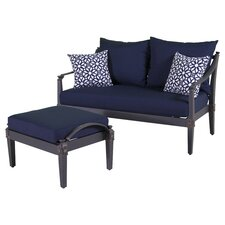 Astoria 2 Piece Deep Seating Group with Cushion