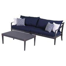 Astoria 2 Piece Deep Seating Group with Cushion