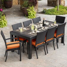 Deco 9 Piece Dining Set with Cushions
