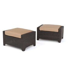 Deco Ottoman with Cushion (Set of 2)