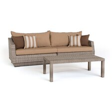 Cannes 2 Piece Deep Seating Group with Cushion