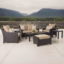 Deco 6 Piece Deep Seating Group with Cushion