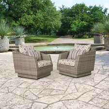 Cannes Armchair with Cushions (Set of 2)