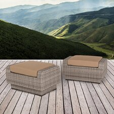 Cannes Ottoman with Cushion (Set of 2)
