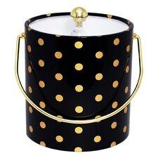 Polka Dot Ice Bucket