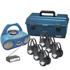 6 Person Wireless Val-U-Pack CD Listening Center