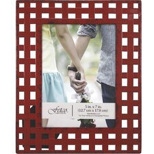 Alyna Woven Metal Picture Frame