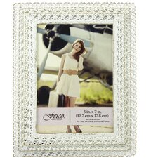 Hebbron Layered Stamped Metal Picture Frame