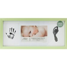 Baby Amar iMatted Hand Footprints Picture Frame