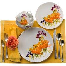Tiger Lilly 16 Piece Dinnerware Set