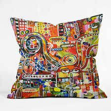 Robin Faye Gates It Came from Detroit Throw Pillow