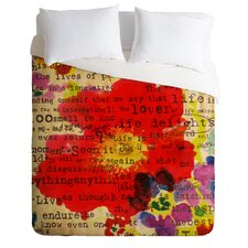 Irena Orlov Poppy Poetry 2 Duvet Cover