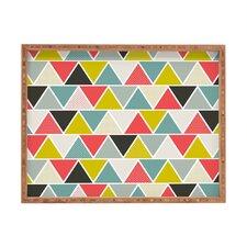 Heather Dutton Triangulum Rectangular Tray