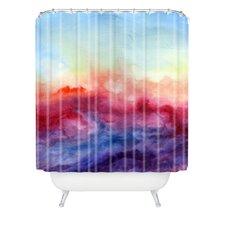 Jacqueline Maldonado Arpeggi Extra Long Shower Curtain