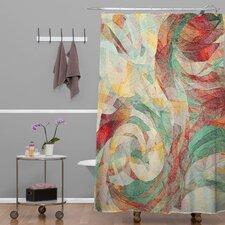 Jacqueline Maldonado Rapt Extra Long Shower Curtain