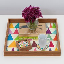 Nick Nelson Analogous Shapes in Bloom Coaster (Set of 4)