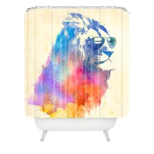 Robert Farkas Sunny Leo Extra Long Shower Curtain