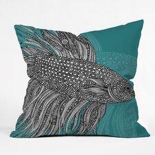 Valentina Ramos Beta Fish Throw Pillow