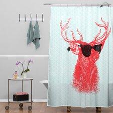 Nick Nelson Buck Shower Curtain