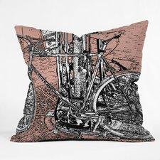 Romi Vega Bike Indoor/Outdoor Throw Pillow